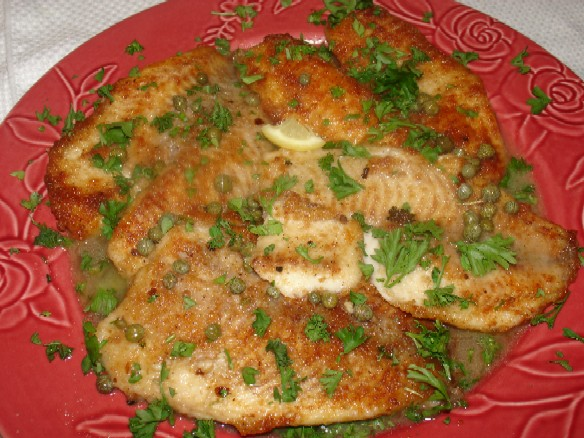 Recipes for tilapia fish parmesan encrusted fish recipe for Tilapia fish recipes